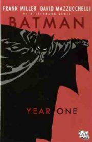 Batman Year One Graphic Novel Trade Paperback TP Frank Miller DC Comics
